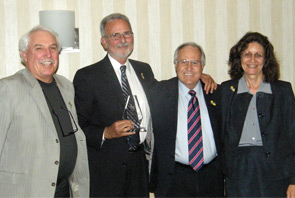 group of four board members
